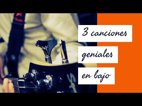 3 Canciones Fáciles Para Bajo