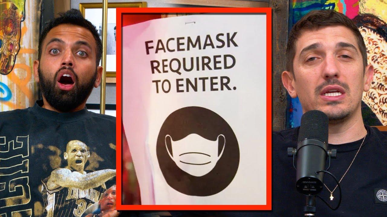 Does The NEW LA Mask Mandate Make Any Sense? | Andrew Schulz & Akaash Singh