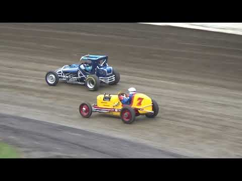 Skagit Speedway, Dirt Cup 2019, Night 3, Golden Wheels Exhibition Race