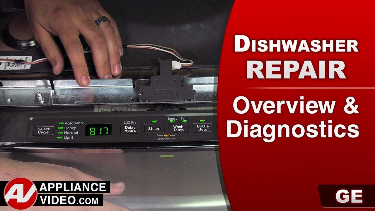 Ge Dishwasher Overview Diagnostics And Error Codes