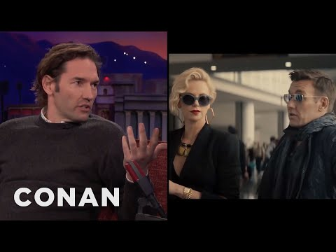 Nash Edgerton Directed His Brother & Charlize Theron In A Sex Scene  - CONAN on TBS