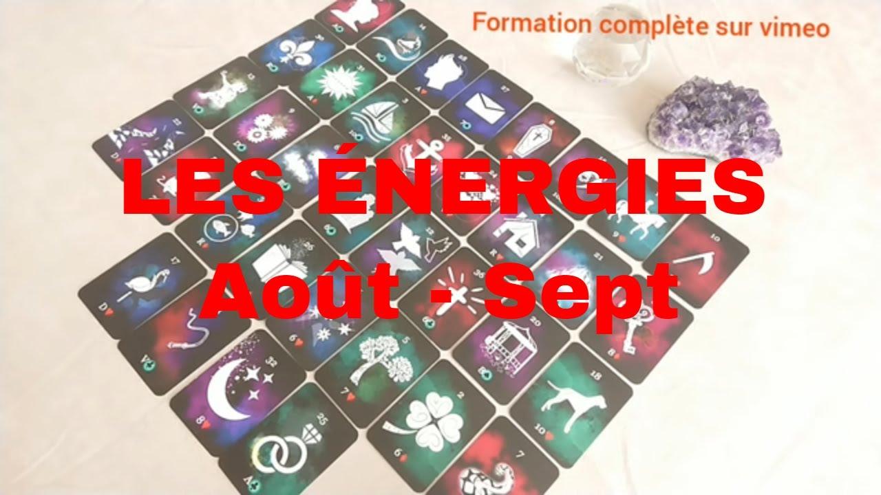 ❇️LES GRANDES ENERGIES AOÛT - SEPTEMBRE 2020❇️ | Tableau Lenormand