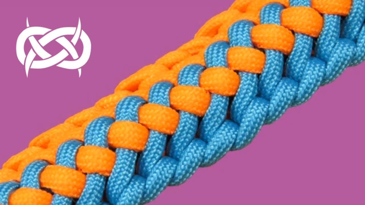 How to make a tiat s radiant zipper sinnet paracord bracelet