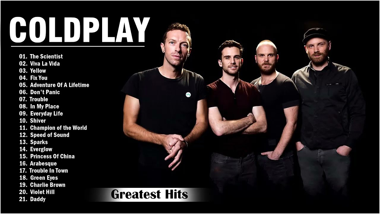 Coldplay Greatest Hits Playlist Álbum completo Melhores músicas do Coldplay - Coldplay Hits Songs