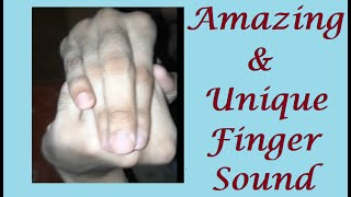 Download Amazing Finger Sound   Asmr hand sounds   Finger Touch Sound   Unique Finger Sound   ASMR Finger