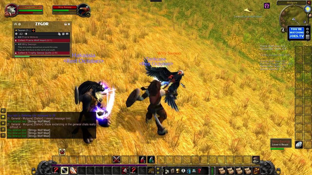 Download WoW Classic: Multi-Box Questing Tauren Warrior/Shaman Part 2