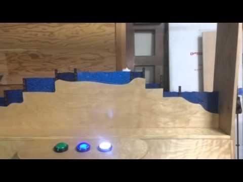 Arduino powered Panama Canal exhibit - San Diego History Ce