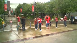 Pig Sooie a Tailgate Song   Flashmob