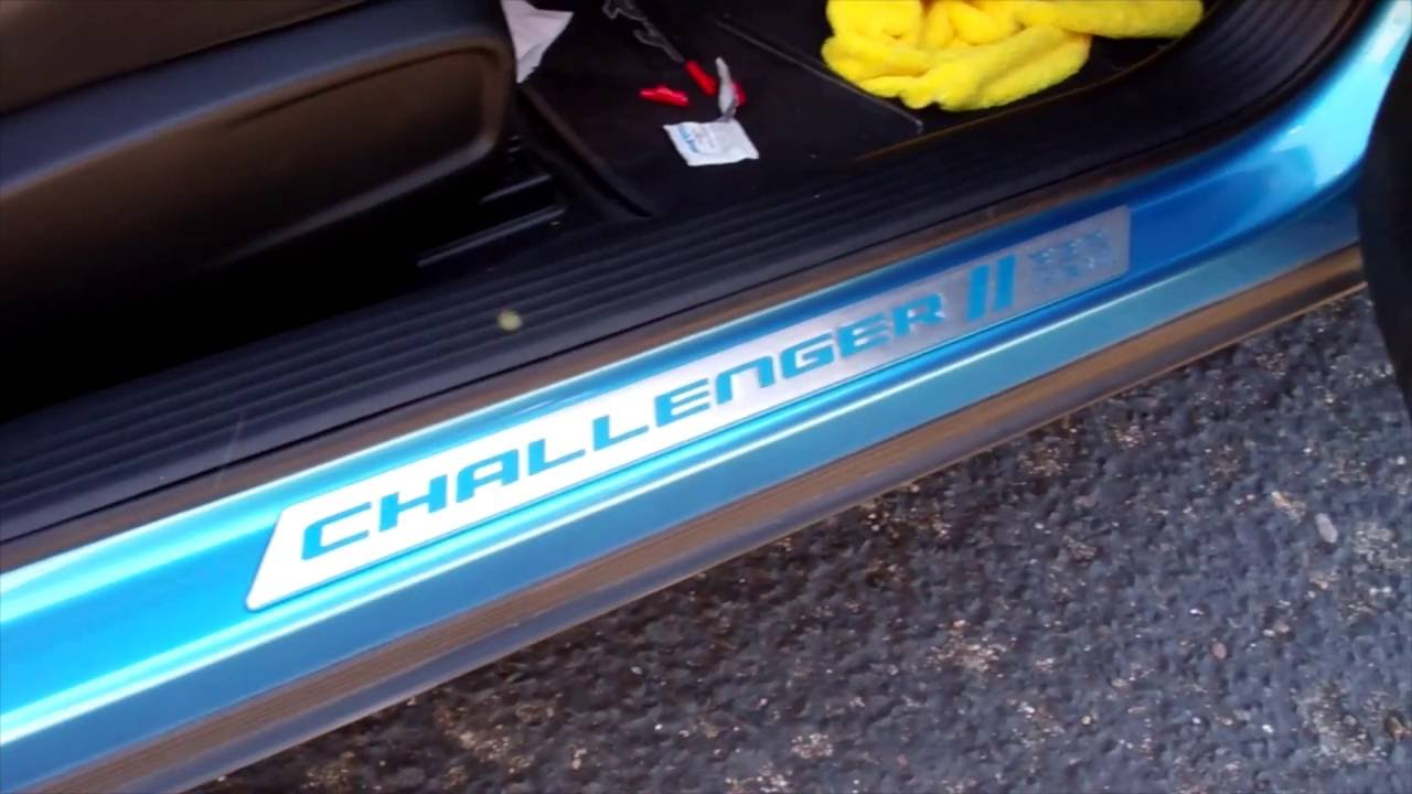 & Challenger:Charger Door Sill Install - YouTube