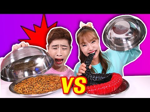 Hit or Miss : Real Food VS Imitated Jelly with Kang I - Jini