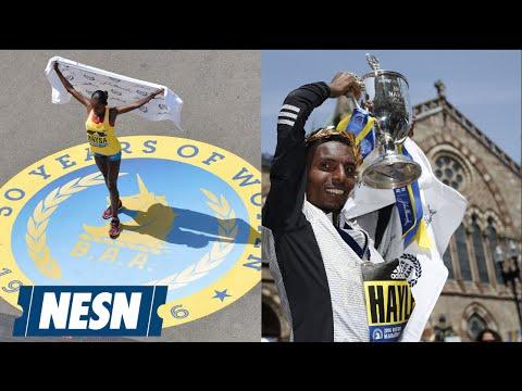 Lemi Hayle, Atsede Baysa Win 2016 Boston Marathon