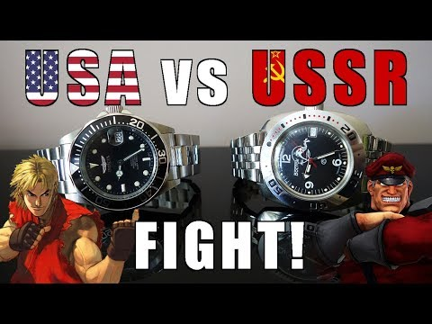 Budget Automatic Diver Duel! Invicta Pro Diver 8926 vs Vostok Amphibia Scuba Dude - Perth WAtch #125