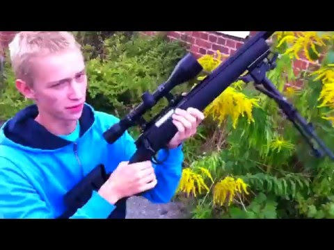 FN Herstal SPR A5M - Shooting Test! (Airsoft)