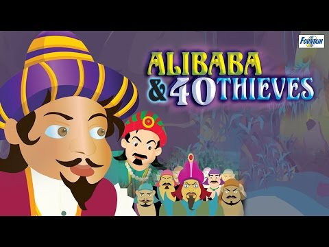Ali Baba Aur 40 Chor  Full Animated Movie  Hindi