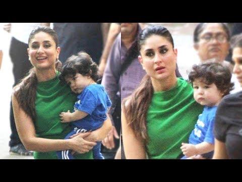 Taimur Ali Khan Accompanies Kareena Kapoor To Work   Ad Shoot    New PICS Mp3