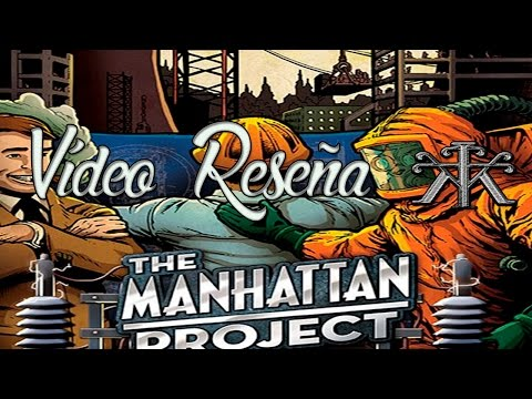 Vídeo Reseña Español - The Manhattan Project 2  Energy Empire