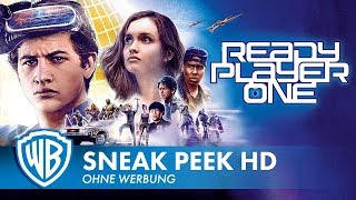 READY PLAYER ONE - 7 Minuten Sneak Peek Deutsch HD German (2018)