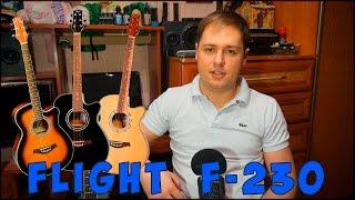 Хорошая первая гитара (Flight F-230 - обзор)