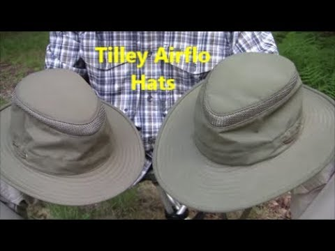 447f0669 Tilley Airflo Hats - LTM6 and LTM5 - YouTube