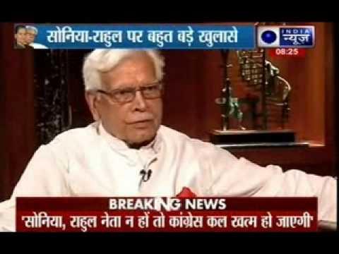 Tonight with Deepak Chaurasia: Natwar Singh  Exclusively talks to India News