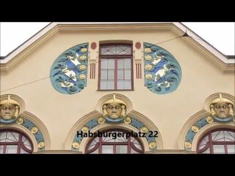Munich, Germany: Art Nouveau (Jugendstil) architecture in Schwabing