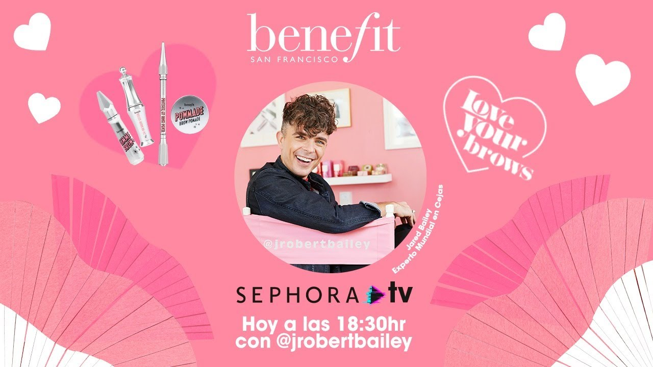 Jared Bailey & Benefit - Live #SephoraTV
