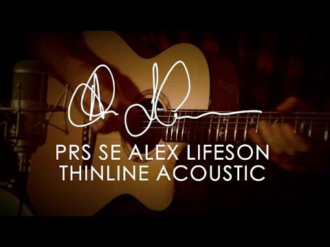 SE Alex Lifeson Thinline Acoustic