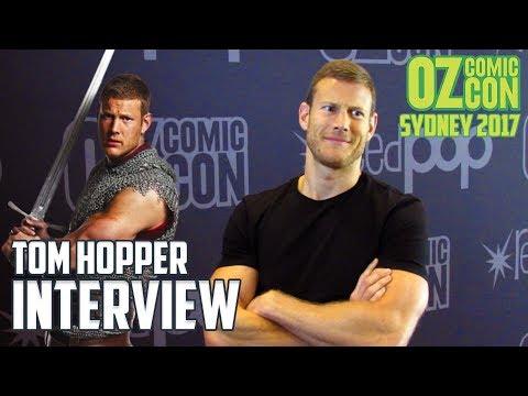 Tom Hopper    Oz Comic Con