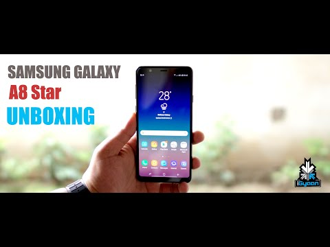 Samsung Galaxy A8 Star Unboxing and First Look