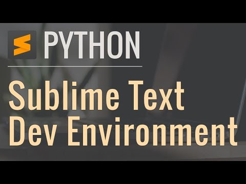 Setting up a Python Development Environment in Sublime Text