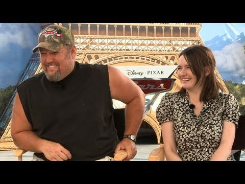 'Cars 2' Interview: Larry the Cable Guy and Emily Mortimer