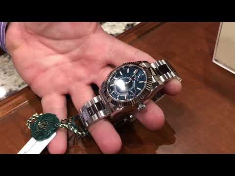 Rolex Sky Dweller 326934 Blue Dial