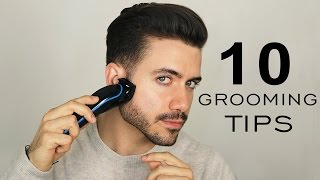 10 GROOMING TIPS EVERY MAN SHOULD KNOW | Men's Grooming Mistakes