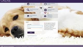 Erstellen Sie ein Züchter Registriernummer bei dogsandcatsonline.com.au
