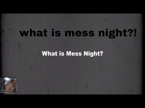 What is a Marine Corps Mess night?