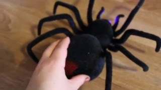 Павук Чорна Вдова іграшка на Радіо управлінні/ Black Widow Spider