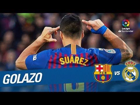 ElClásico - Golazo de Luis Suárez (3-1) FC Barcelona vs Real Madrid