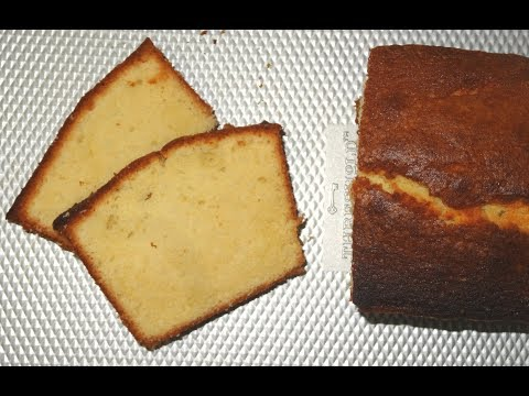 Rich and Moist Pound Cake | Classic Pound Cake | Vanilla Pound Cake | Loaf Cake