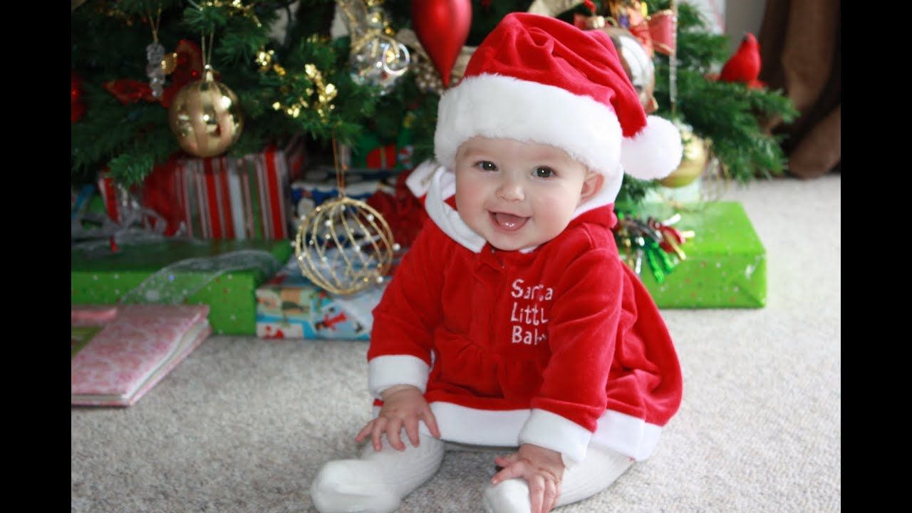 Happy christmas pictures for babies