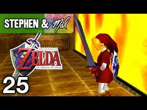 "Zelda: Ocarina of Time #25 - ""Fire and Pain"""