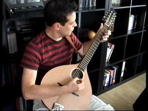 Margot Maria On Cittern Bouzouki 10 Strings Quot Tara Quot Made