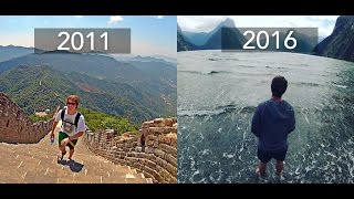 5 Years, 4 Continents, 3 Minutes | Travel Film
