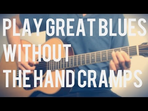 Play Great Blues Without Tough Stretches & Hand Cramps | Tuesday Blues 082 mp3
