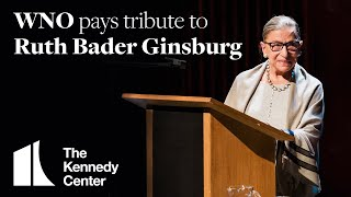 Washington National Opera pays tribute to Ruth Bader Ginsburg
