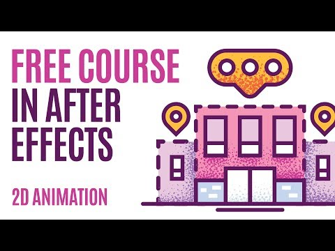 AFTER EFFECTS Tutorial, Buildings 2d ANIMATION, Skillshare Course