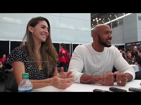 NYCC 2017: Agents of SHIELD Henry Simmons and Natalia CordovaBuckley