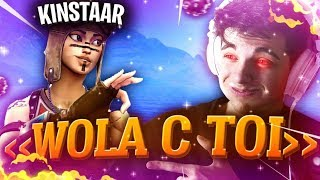 TROLL, I'm BEING for SOLARY KINSTAAR on Fortnite (Epic Reaction)! #1