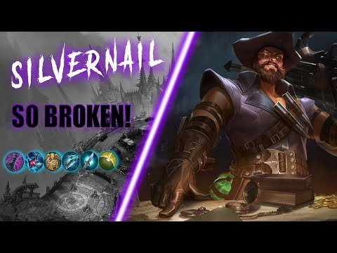 SIlvernail CRYSTAL POWER INSANELY OVER POWERED! - Vainglory 5v5