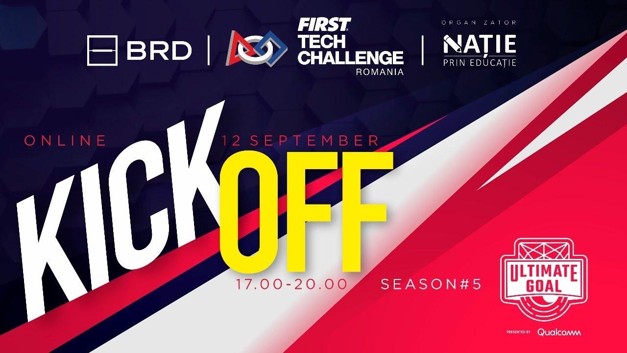 Kickoff First Game Changers 2020 2021 Deschidere Sezon 5 Robotica First Tech Challenge Youtube