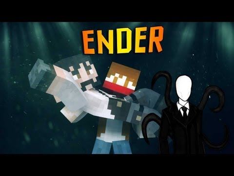 ENDER-SLENDER - Охота за Шуриком(MineCraft MiniGame)